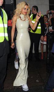Rita Ora white